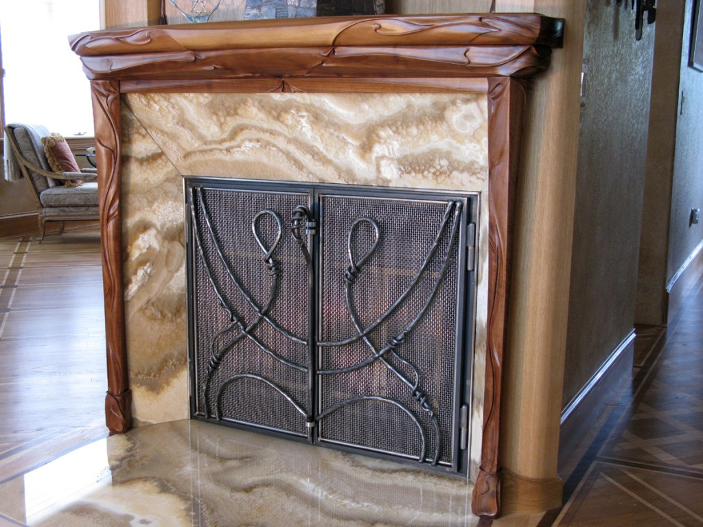 Fireplace Screen-2